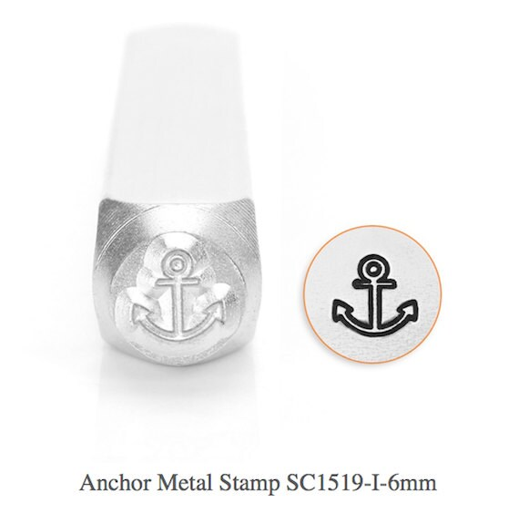 ImpressArt SC1510-H-6mm Swirl Design Metal Stamp
