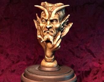 V-3 Satan  Stash sculpture by  Thomas Kuntz