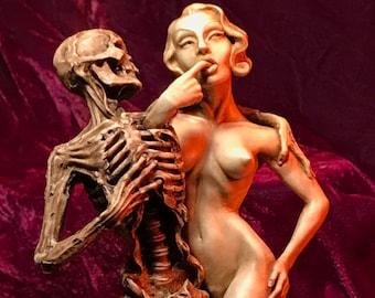 Whole Heartedly : Danse Macabre sculpture Thomas Kuntz Ltd. Ed.