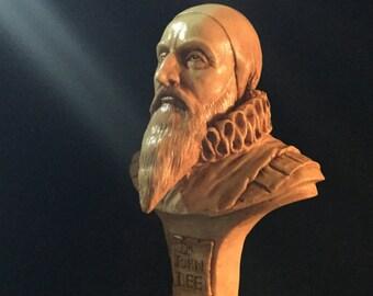 Dr John Dee mini bust by Thomas Kuntz