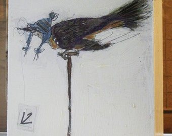 Bird Painting Collage - 12