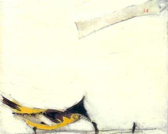 Bird Painting Collage - 14