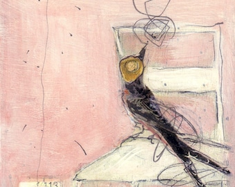 Bird Painting Collage - 113