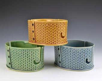 Yarn Bowl knitting bowl crochet bowl MADE TO ORDER