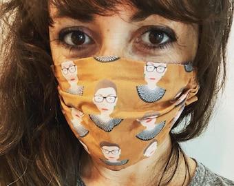 RBG face mask (BROWN)