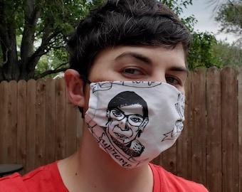 RBG face mask (WHITE)