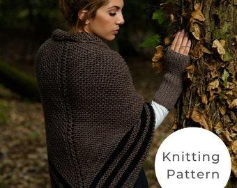 Claire's Carolina Shawl Knitting Pattern / Outlander Patterns / Outlander / Outlander Knitting Patterns / Carolina Shawl / Outlander Shawl