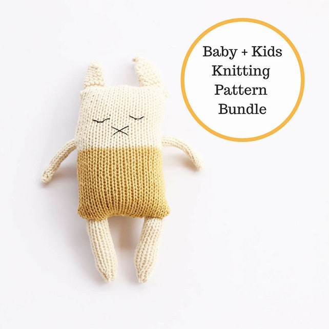 Knitting Patterns Baby Baby Knitting Patterns Easy Knit Baby Etsy