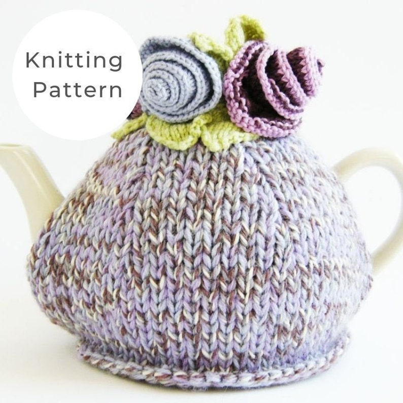 Tea cosy pattern tea cosy knitting pattern tea cosy UK tea ...