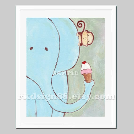 Popular Items For Nursery Decor On Etsy Baby Shower: Items Similar To Baby Shower Nursery Art, Children's Wall