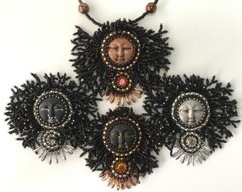 Wild Woman Bead Embroidery Tutorial