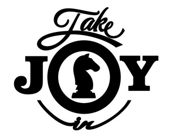 Take Joy In Chess Decal