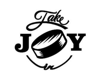 Take Joy In Hockey Decal