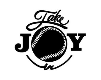 Take Joy In Baseball Decal