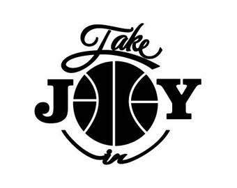 Take Joy In Basketball Decal