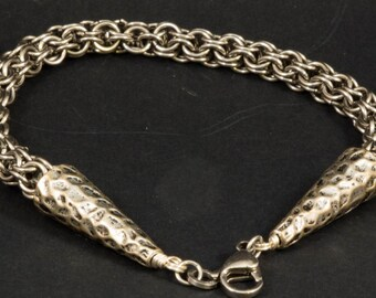 Men's Sturdy Stainless Steel Chainmaille Bracelet