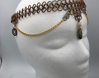 Steampunk Chainmaille Circlet