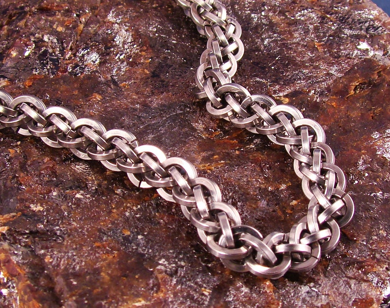 Strong Steel Chainmaille Jens Pind Bracelet image 0