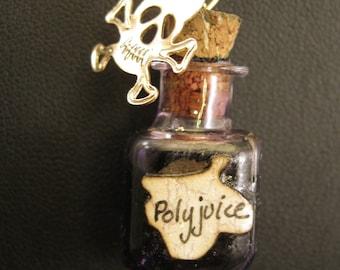 Polyjuice Potion Bottle Pendant Charm