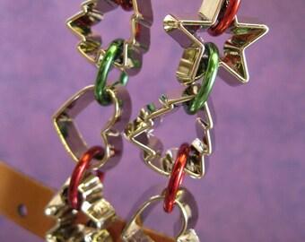 Christmas Cookies - Adorable Cookie Cutter Earrings