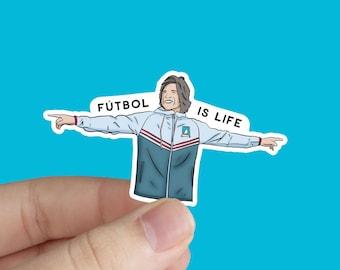 Ted Lasso Sticker Dani Rojas Sticker Futbol Is Life