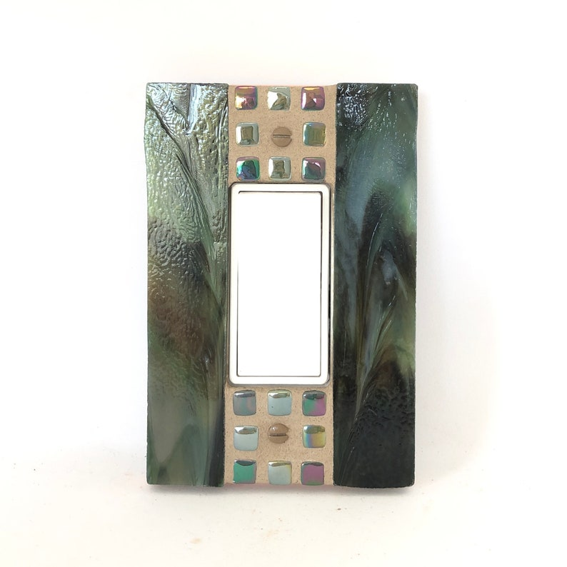Dark Green Switchplate Light Switch Plate Switch Plate image 0