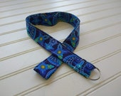 Sewn Fabric Lanyard with ...