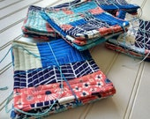 Beachside Patchwork Quilted Coasters