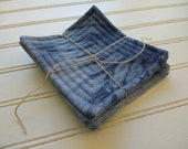 Shibori & Hand-Dyed Quilted Coasters