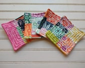 Almost Paradiso Patchwork - Quilted Coasters