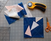 Wonky Geese Paper Piecing...