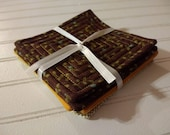 Set of 6 Quilted Coasters...