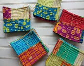 Modern Marks Patchwork Quilted Coasters