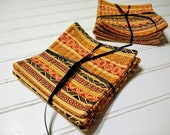 Tribal Stripe Quilted Coasters
