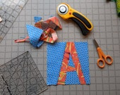 Paper Piecing Pattern - A...