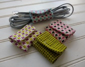 Set of 4 Reversible Sewn ...