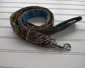 Batik Patchwork Dog Leash...