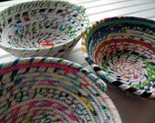 Coiled Fabric Bowls - Sel...