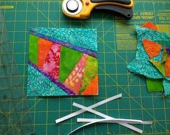 Ziggy Paper Piecing Pattern