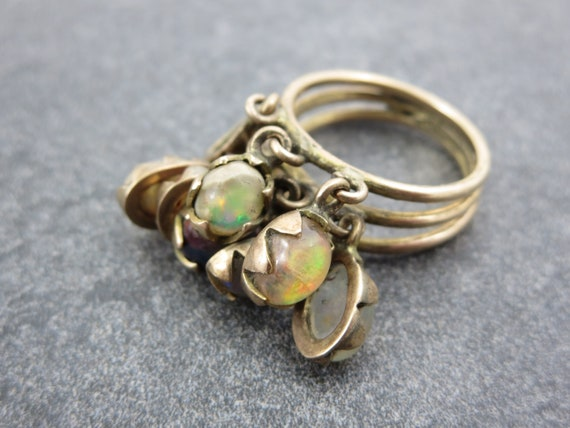 Vintage 14k Gold Opal Ring - ChaCha Opal Rings for