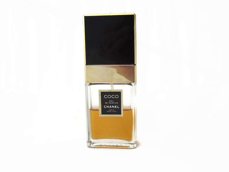 778a4426b60 Coco Chanel Eau de Parfum Spray Vintage Perfume 1.2oz Half
