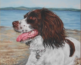 Original Painting - Custom Order Portrait Of Your Pet Or Loved One