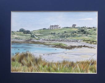 Braye Bay, Alderney - Original Painting