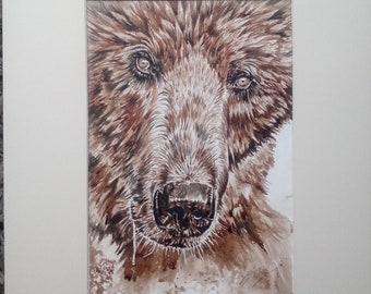 Bear 151 Walker - Original Painting