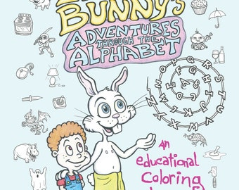 Billy and the Easter Bunny's Adventures Through the Alphabet