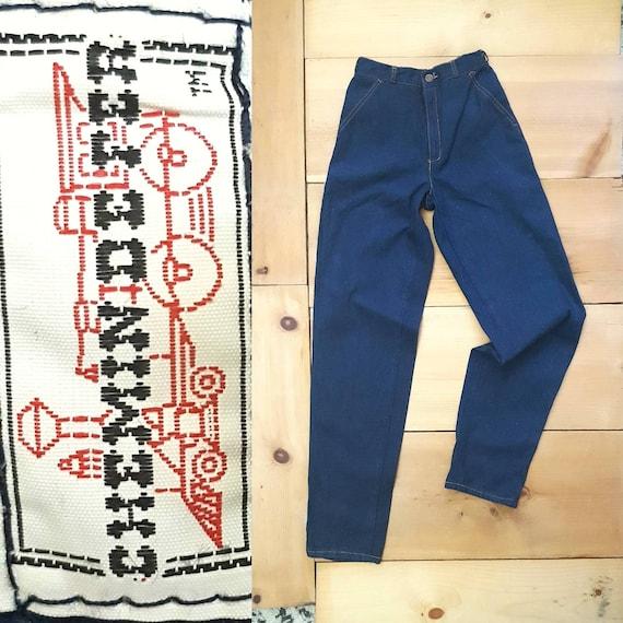 Vintage Jeans  // 70s 80s CHEMIN DE FER High Waist