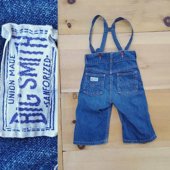 Vintage 40s 50s Baby Jeans  // Vtg 1940s 1950s Tod