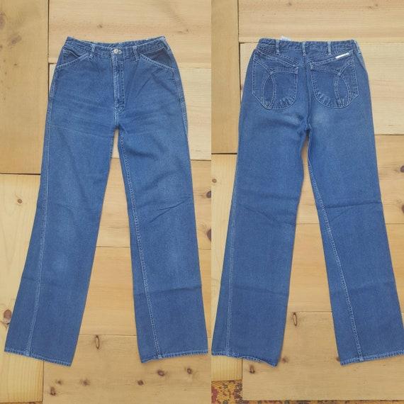 Vintage Jeans  //  Vtg 70s 80s N'EST CE PAS? Mid … - image 2