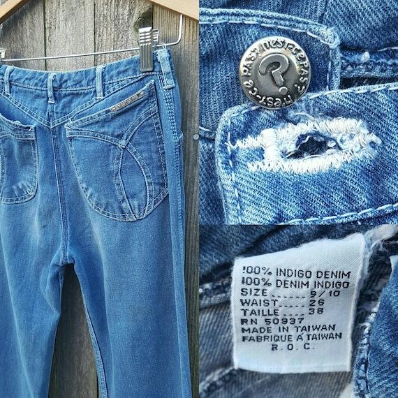 Vintage Jeans  //  Vtg 70s 80s N'EST CE PAS? Mid … - image 6