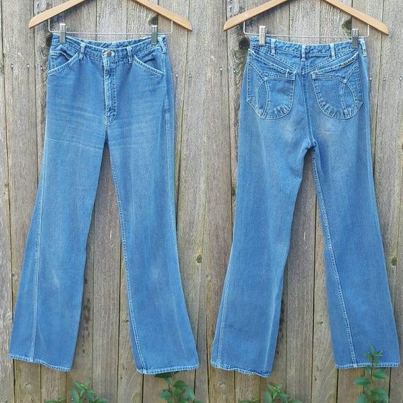 Vintage Jeans  //  Vtg 70s 80s N'EST CE PAS? Mid … - image 5